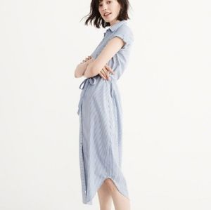 Abercrombie & Fitch stripe shirt dress